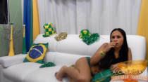 Jogo do Brasil na Copa do Mundo você pode ver juntinho com a Allana