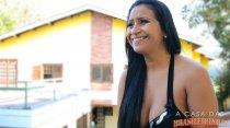 Alessandra Marques deu um show de putarias em sua participação! Confira.