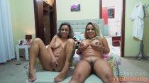 Webcam ao vivo | Melissa e Diana | A Casa das Brasilerinhas