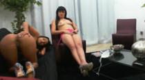 Garotas assistindo filme pornô da Brasileirinhas